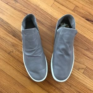 Vince Leather Slip-on Sneakers, size 10